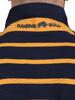 Raging Bull Signature Breton Polo - Navy/Yellow