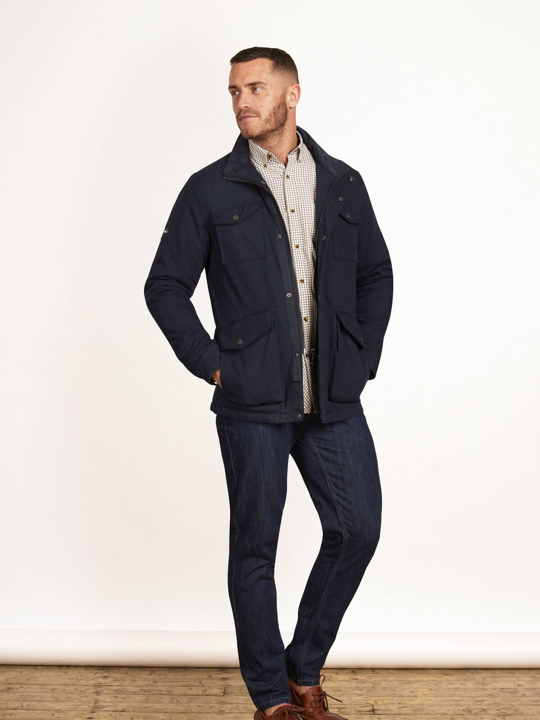 Raging Bull - Big & Tall - Peached Field Jacket - Navy