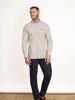 Raging Bull Big & Tall - Long Sleeve Window Pane Shirt - Claret