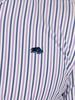 Raging Bull Long Sleeve Bengal Stripe Shirt - Purple
