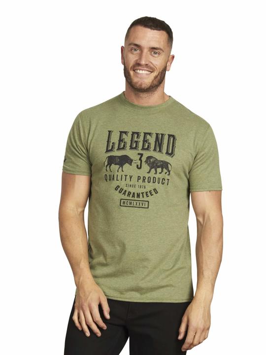 Raging Bull - Big & Tall - Legend Tee - Olive