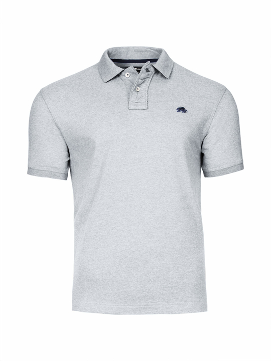Raging Bull - Signature Jersey Polo - Grey