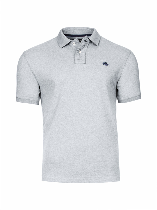 Raging Bull Big & Tall - Signature Jersey Polo - Grey