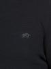 Raging Bull Textured Quarter Zip Knit - Navy