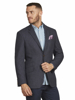 Raging Bull Big & Tall - Herringbone Blazer - Grey