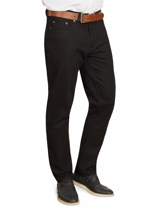 Raging Bull Tapered Jeans - Black