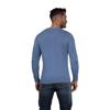 Raging Bull Crew Neck Cotton/Cashmere Sweater - Denim Blue