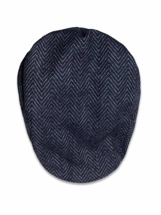 Raging Bull - Flat Cap - Grey Marl/Navy