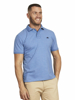 Raging Bull Signature Jersey Polo - Mid Blue