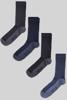 Raging Bull Four Pack Bamboo Socks - Various