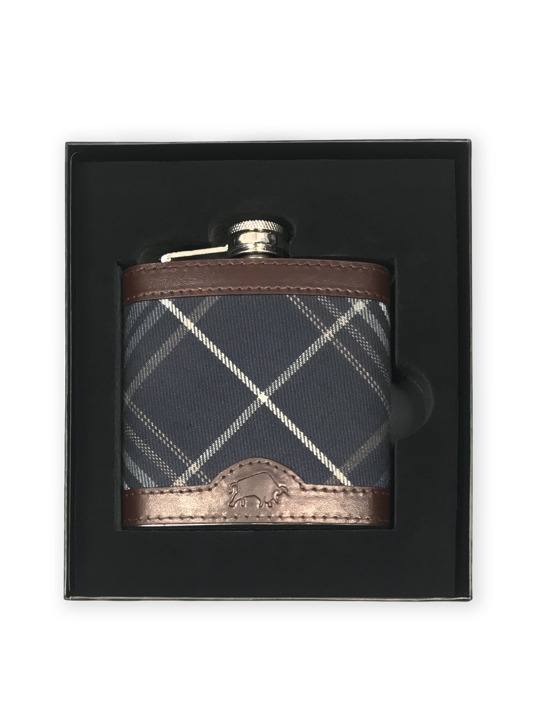 Raging Bull - Hip Flask - Navy