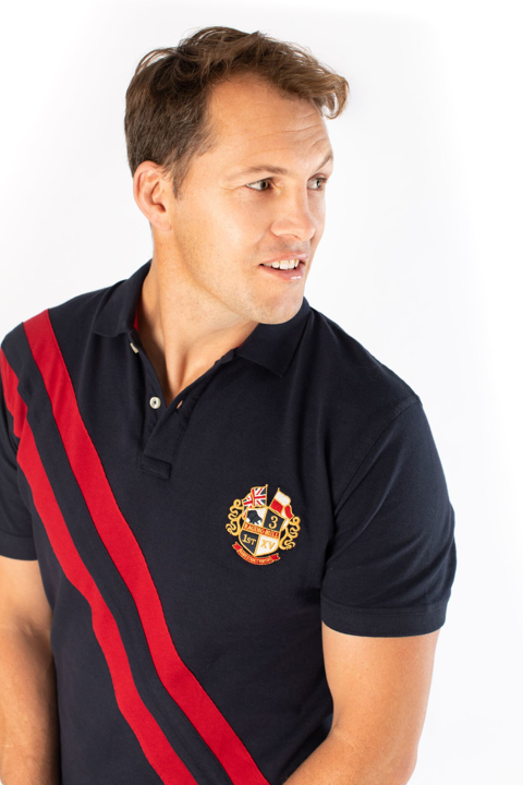 Raging Bull - Big & Tall - Heritage Pique Polo - Navy
