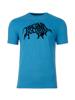 Raging Bull Flock Bull Tee - Cobalt Blue