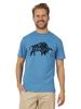 Raging Bull Big & Tall  Flock Bull Tee - Cobalt Blue