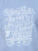 Raging Bull Warrior Tee - Mid Blue