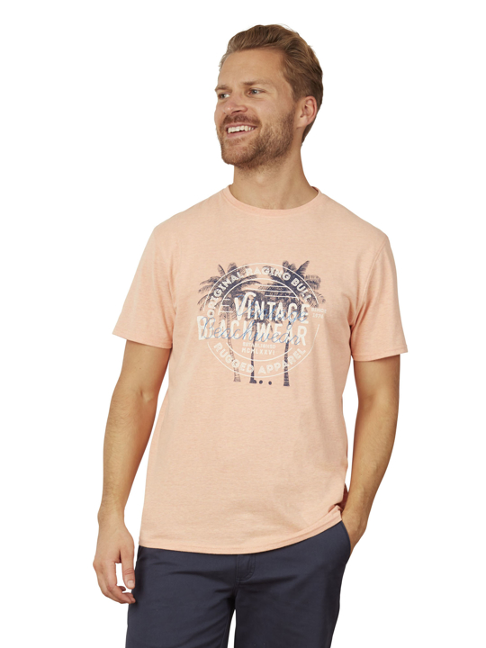 Raging Bull - Big & Tall Palm Beach Tee - Orange