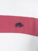 Raging Bull Irregular Stripe Polo - Vivid Pink