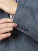 Raging Bull Big & Tall Linen Blazer - Denim