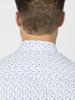 Raging Bull Long Sleeve Micro Floral Shirt - Purple