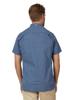 Raging Bull Short Sleeve Lavender Print Shirt - Navy