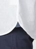 Raging Bull Big & Tall Short Sleeve Linen Shirt - White