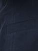 Raging Bull Herringbone Linen Blazer - Navy