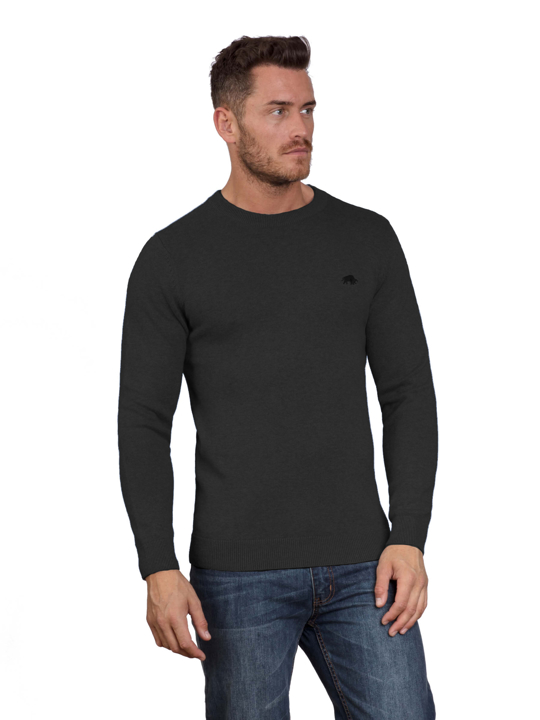 Raging Bull Big & Tall Signature Lightweight Crew Neck - Black