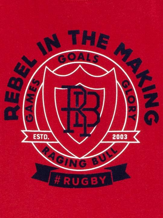 Raging Bull - Rebel Tee - Red