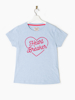 Raging Bull Heart Breaker Tee - Sky Blue