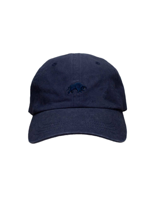 Raging Bull - Washed Baseball Cap - Denim