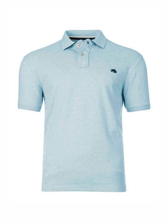 Raging Bull - Signature Jersey Polo - Sky Blue