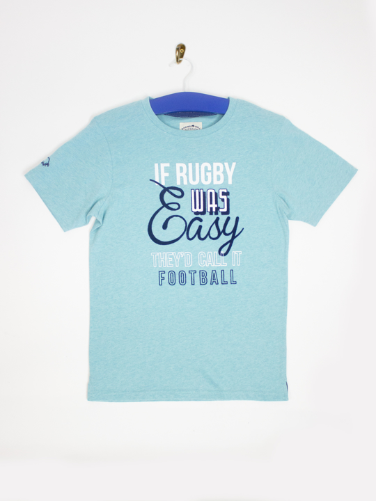 Raging Bull - If Rugby was Easy Tee - Mint