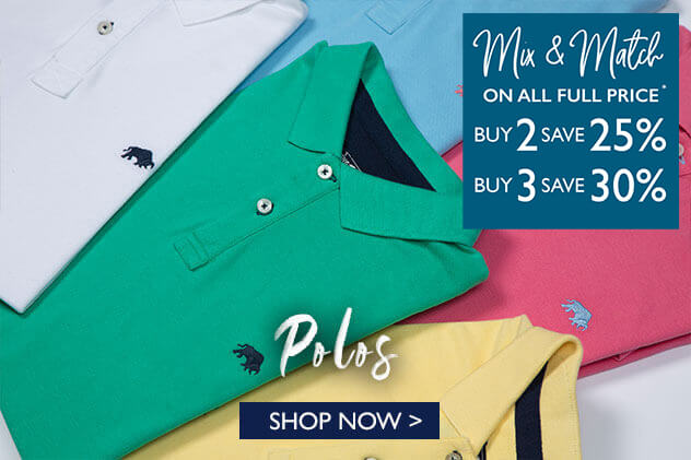 Shop Raging Polos